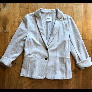 Classic blazer in Heather gray